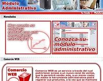 Módulo Comercio WEB