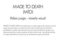 Vídeo juego novela visual, historia y concepto.