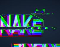Glitch Snake motion
