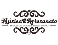 Logomarca Música e Artesanato