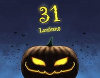 31 Lanterns - Halloween Illutrations