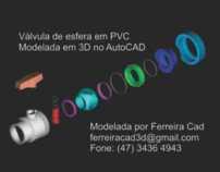 Válvula de Esfera em PVC