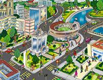 Mapas Ilustrados / Illustrated Maps