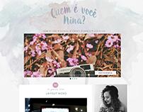 Blog | Quem é você, Nina?