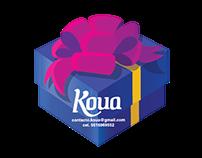Diseño de logotipo e identidad gráfica / Koua