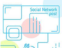 -social network post-
