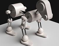Robot Dog (3D modeling)