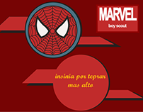 INSIGNIAS BOYS SCOUTS MARVEL