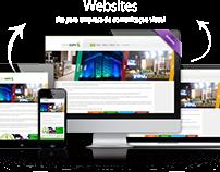 Site para empresa de comunicação visual