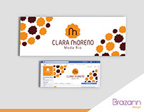 Rede Social - Layout Capa Facebook