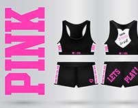 Sportswear for brand PINK