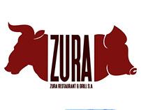 "Logo ""ZURA Restaurant"""