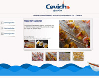 Ceviche Glass Bar - Website