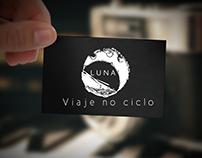 Luna Turismo - Logomarca e Identidade Visual