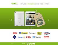 Landing Acer Mexico