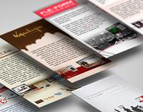 Apresentação de Arte Digital para Email Markting.