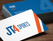 JT4 SPORTS / identidade visual