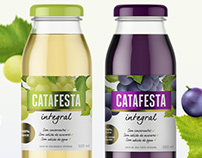 Suco de Uva Catafesta/ Grape Juice Packaging Design