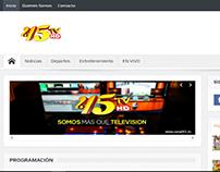 Desarrollo web - Canal45