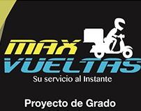 Imagen Corporativa - MAX VUELTAS - Proyecto -