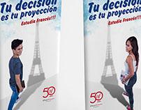 Roll Screen campaña Alianza Francesa Chiclayo