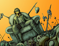 Ilustrações Tema Cyberpunk