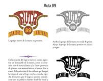 Ruta 89 (corporate identity)