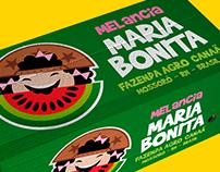Melancia Maria Bonita e Melão Lampião