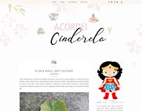 Layout para blogger, ícones de categoria personalizados
