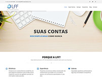 Site e identidade visual LFF CONTABILIDADE