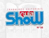 Trabalhos Editoriais - Revista Guia Show Nº56