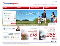 Rediseño web site Coloniaexpress.com