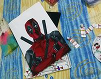 Deadpool - Painting