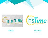 Rediseño de imagen It`s Time Producciones