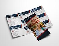 VIA EDUCAÇÃO - Cartão Acesso, Folder, Envelope