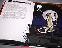 Box de livros sobre os youkais (TCC USJT)
