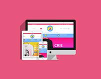 Logo, site e estampas: eatPOP