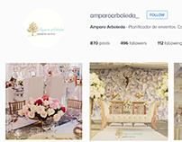 Social media for wedding planner