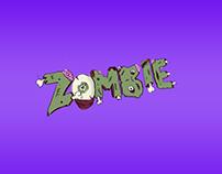 Zombie! Lettering art