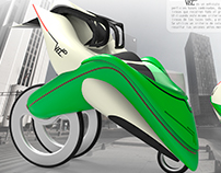 Vehiculo futurista