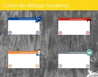 Dialog box to the interactive course