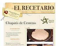 El Recetario. Almacén orgánico Chascomús