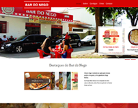 Bar do Nego - website