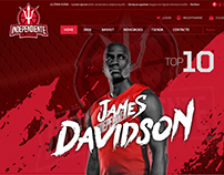Diseño Web Responsive Independiente de Zarate Basquet
