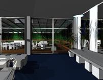 Decoração virtual Salão Victoria - Jockey Club - RJ