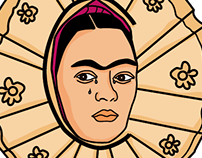 Tipografía de Frida Kahlo