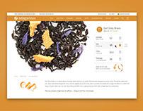Ecommerce Redesign - Adagio.com