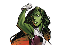 She Hulk - J. Scott Campbell