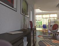 Interior 3D scenes
