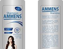 Shampoo AMMENS - Etiqueta Nueva (Línea Exclusiva)